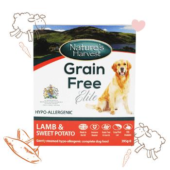 Grain Free Elite Lamb & Sweet Potato Adult Dog Food 1