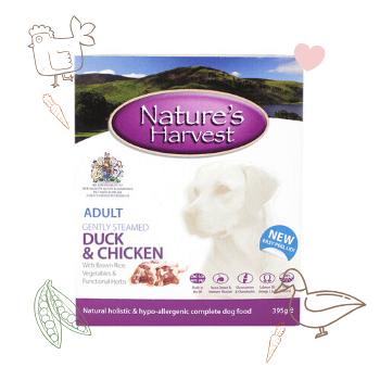 Duck, Chicken & Brown Rice Adult Dog Food 1