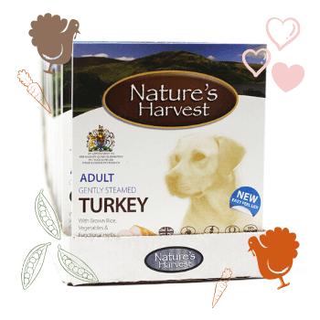 Turkey & Brown Rice Adult 10 Trays 1