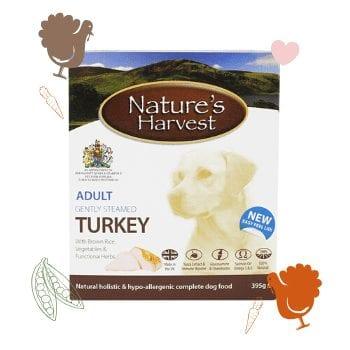 Turkey & Brown Rice Adult Single Tray 1