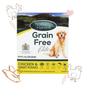 Grain Free Elite Chicken & Sweet Potato Adult Dog Food 1