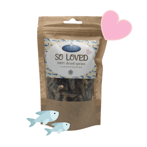 SO LOVED 100% Dried Sprats Grain Free & Hypoallergenic 1