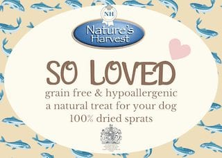 SO LOVED 100% Dried Sprats Grain Free & Hypoallergenic 2