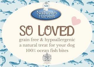 SO LOVED 100% Ocean Fish Grain Free & Hypoallergenic Bites 2