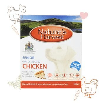 Senior Chicken & Brown Rice Dog Food 1