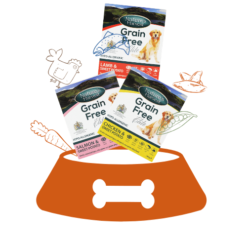 Nature's Harvest Grain Free Adult 1 Month Pack 3