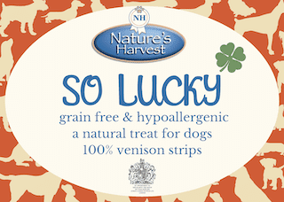 SO LUCKY 100% Venison Grain Free & Hypoallergenic Strips 2
