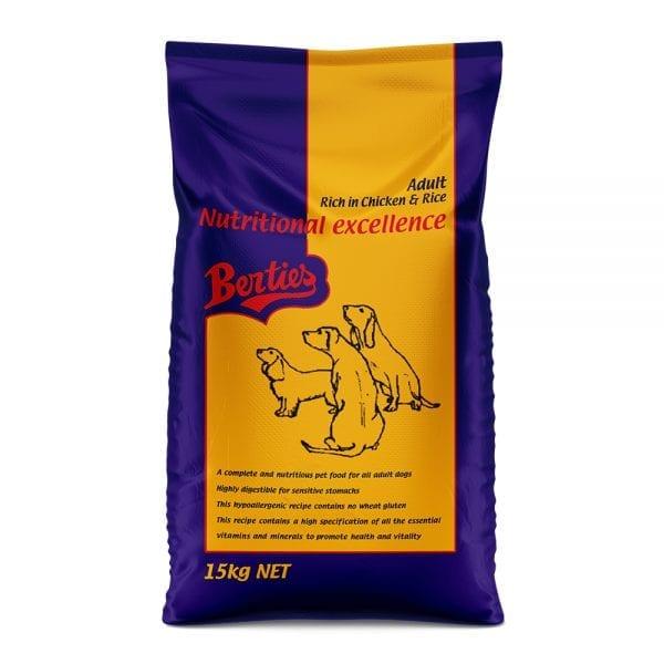 Berties HypoAllergenic Dog Food 1