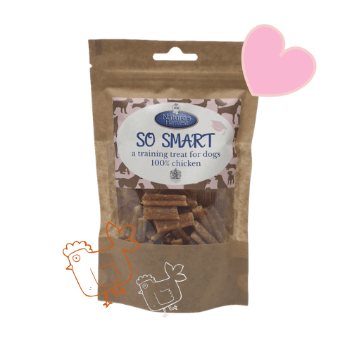 SO SMART 100% Chicken Grain Free & Hypoallergenic Training Treats 1